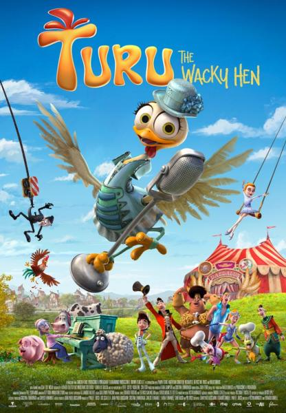 TURU THE WACKY HEN